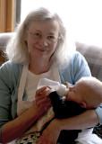 Grandma & Ezra; May 2009