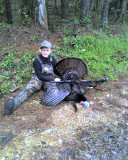 'Punkin's' turkey taken April 6, 2008