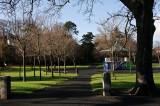 A sunny February morning in Blackrock Park