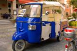 Le taxi bleu