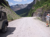 Yankee Boy Basin Drive , Ouray, CO, 29 June Friday