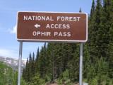 Ophir Pass-26 June Tuesday