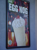 Egg Nog ShakeJack in the Box