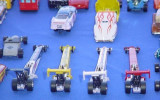 row of dragsters