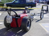 dragster outside