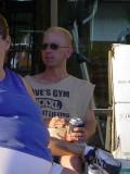 Jeffrey Louisat Dave's Gym