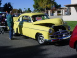 1950 yellow Chevy Coupe