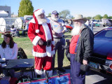 Santa, Santa and Bob