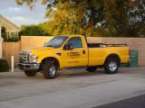 yellow truck next door