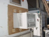 outside 12,000 BTU unit