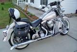 Tim's Harley softail