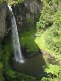 Bridal Veil Falls. New Zealand