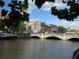 Liffey River. O´Connel Bridge