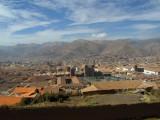 Vista desde las montañas cercanas