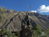 Jefe Inca en Ollantaytambo