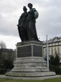 Estatua en el Jardi Anglais