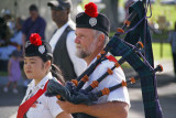 Bagpipes at Punchbowl Memorial Day ceremony