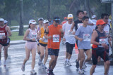 Okay, whose great idea was it to run the marathon in this rain