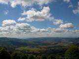 View from Ciomatul Mtn.