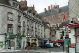 a typical french town, Gien