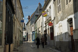 une rue de Sancerre.