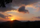 Asturias, sunset.