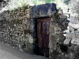 the old door.