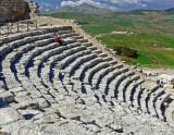Segesta theater.
