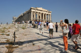 At  Acropolis and Site of Parthenon