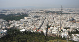 A View of Athens with Acropolis in Center Back