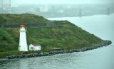 Lighthouse at Entrance to HALIFAX, NOVA SCOTIA