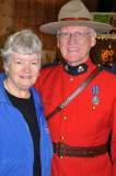 Ann and un-Mounted Canadian Police (Retired)
