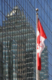 Reflection and Canadian Flag