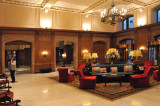 Lobby of Fairmont Chateau Laurier Hotel in OTTAWA