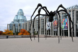 Huge, Metallic Spider at National Art Gallery Grounds