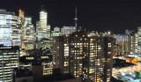 Night View of Toronto from Delta Chelsea Hotel