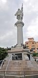 Statue to Columbus