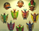Religious items from native culture