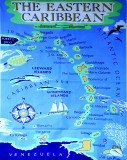 Map (#4 location of next stop: Dominica Island)