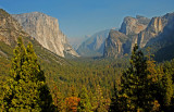 The standard view of Yosemite's magnificence!