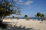 Lovely sandy areas of resort