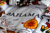 Tee shirt displaying various islands in Caribbean