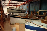 26C assembly line at Hinterhoeller Yachts