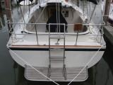 stern with platform & ladder