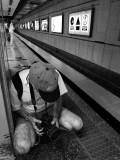Me in the Subway of Beijing