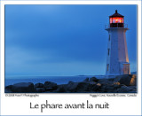 Lighthouse before night ...