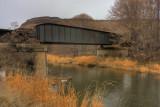 3-Image HDR, Bridge over Trout Creek