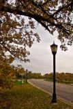 Gray Autumn Day on the Mill Pond Bridge  ~  October 12