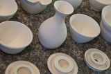 Unfired Pottery  ~  February 9
