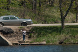 Mill Pond Fishing  ~  May 16